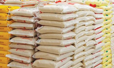 Customs seizes 240 bags of foreign parboiled rice