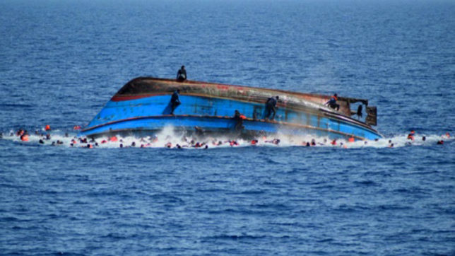 At least 100 feared dead as boat capsizes off Libya