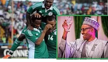 Buhari congratulates Super Eagles over victory
