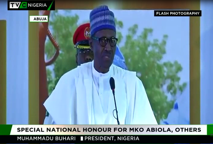 June 12: Buhari apologises to Nigerians, Abiola's family