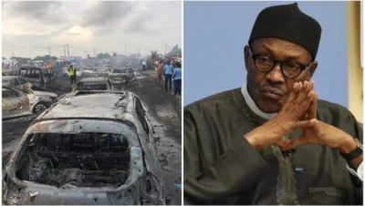 Buhari expresses shock, sorrow over Lagos tanker explosion