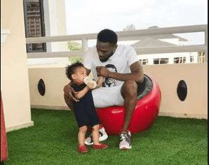 Minister condoles with D'banj over son's death