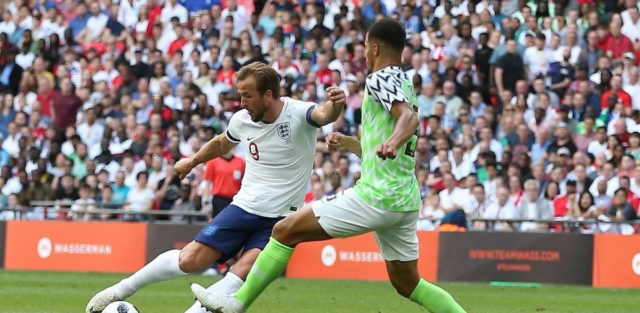 England beat Nigeria 2-1 in Pre-World Cup friendly