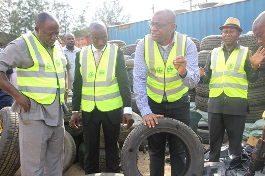 Fake tyre: Standards surveillance team uncovers warehouse in Lagos