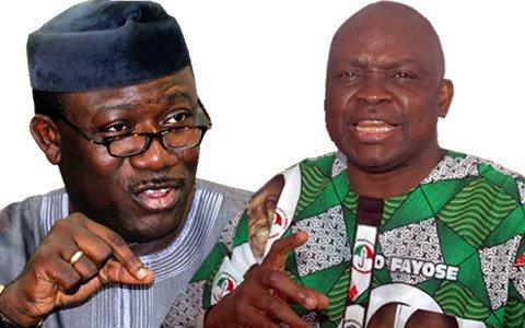 Fayemi challenges Fayose to public debate on Ekiti finances