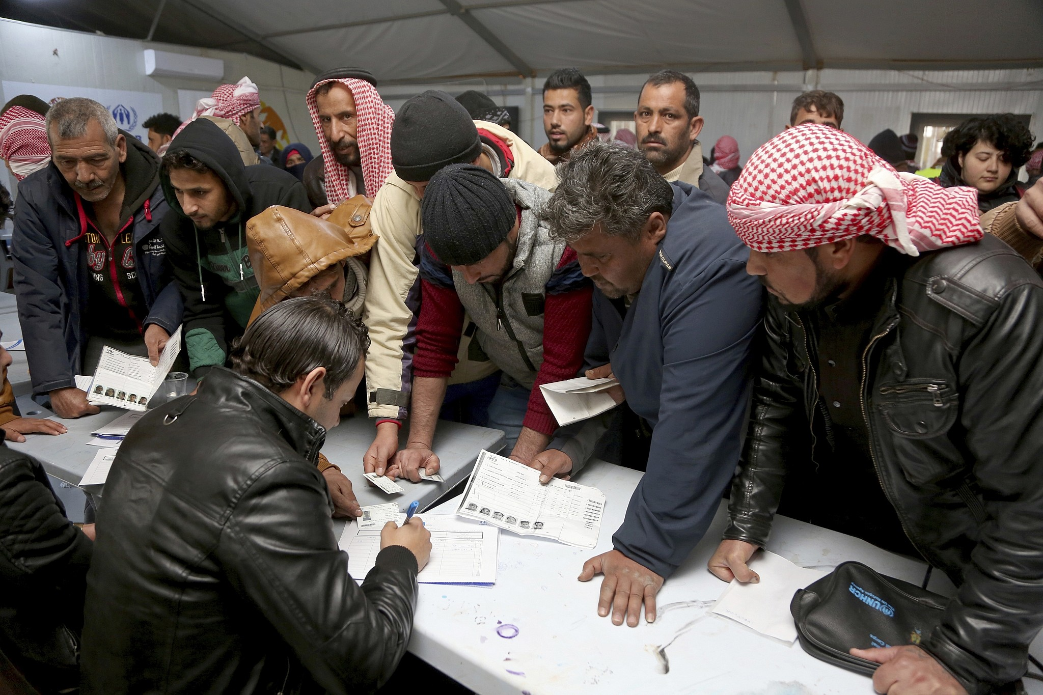 Jordan opens employment centre for Syrian refugees