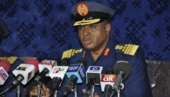 Air force chief confident of officers' ability to tackle terrorism, banditry