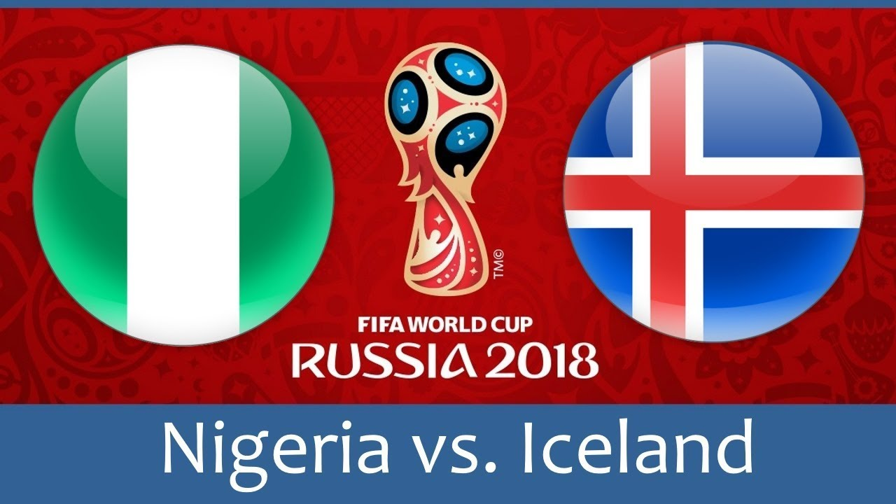 World Cup: Iceland target win or draw against Nigeria