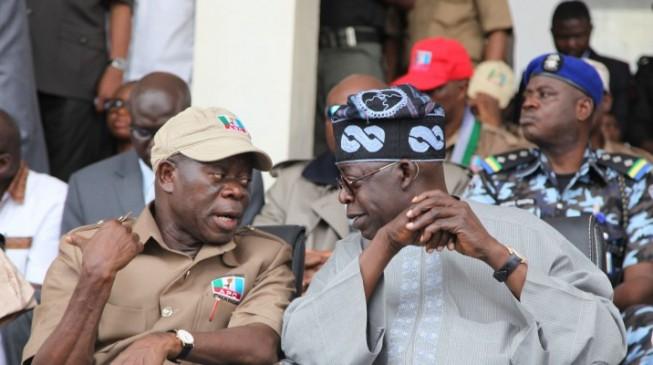 Tinubu endorses Oshiomhole as Oyegun's replacement