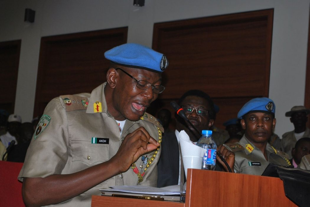 Peace Corps Commander urges Police to obey court order