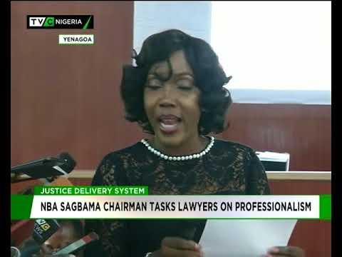 NBA Sagbama chairman tasks lawyers on professionalism