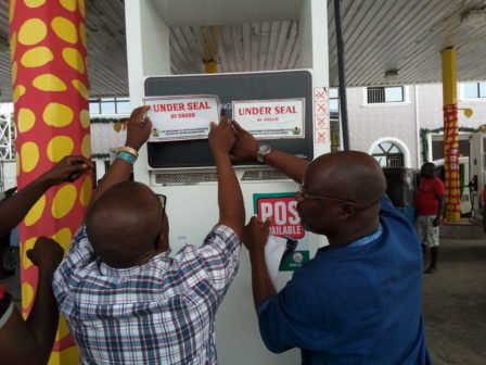 DPR seals fuel stations in Lagos for under dispensing