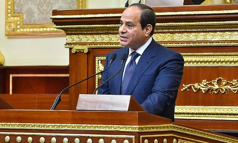 Egypt's Sisi sworn in for second term