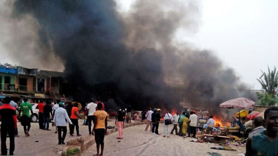 Suicide blasts kill 31, injures 48 in Damboa