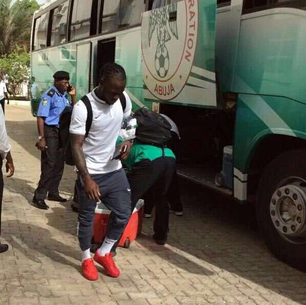 Victor Moses joins Super Eagles in London Camp