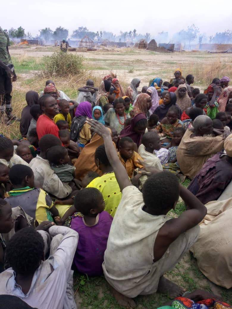 Nigerian troops rescue victims of sex slave, forced labour from Boko Haram