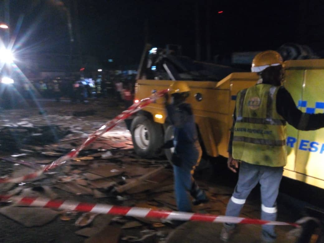 Updates: Death toll rises to three in Ojuelegba truck accident