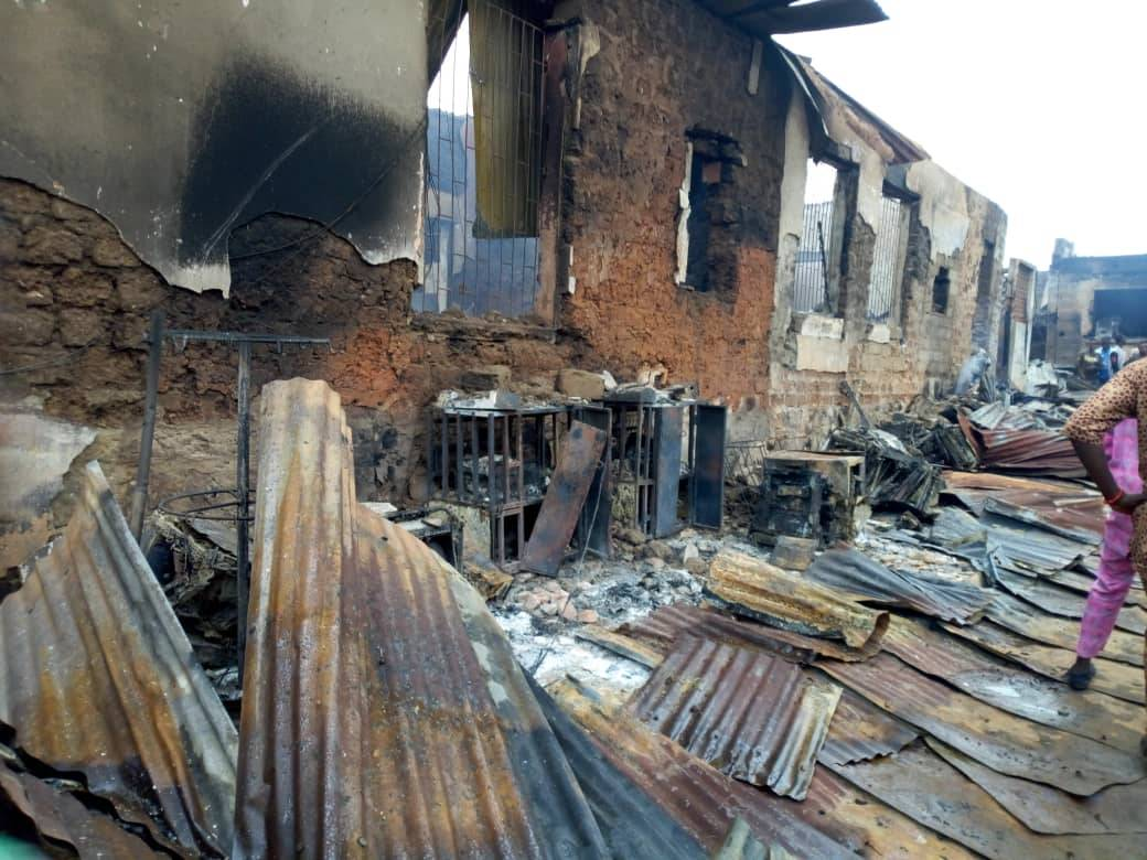 Breaking: fire destroys property worth millions of naira in Akure