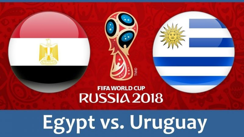 World cup 2018: Uruguay scores 89th minute goal to beat Egypt