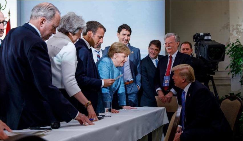 Trump thwarts G7 effort to ease trade spat, threatens auto tariffs