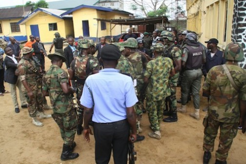 Three reportedly killed in clash between soldiers and police officers in Aba