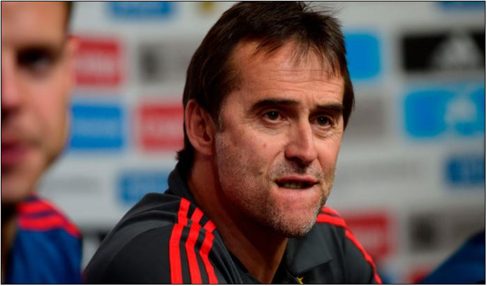 Spain fire World cup coach 24 hours before tournament