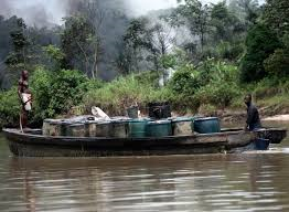 "Crude oil theft: ""NNS Delta"" continues operation in Benneth Island"