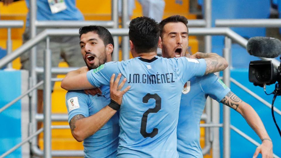 Russia 2018: Uruguay beats Saudi Arabia by a slim 1-0