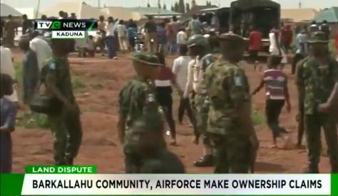 Air Force, Kaduna's Barkallahu community clash over land ownership