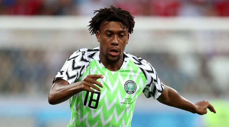 After World Cup poor outing, Iwobi shifts focus to AFCON 2019