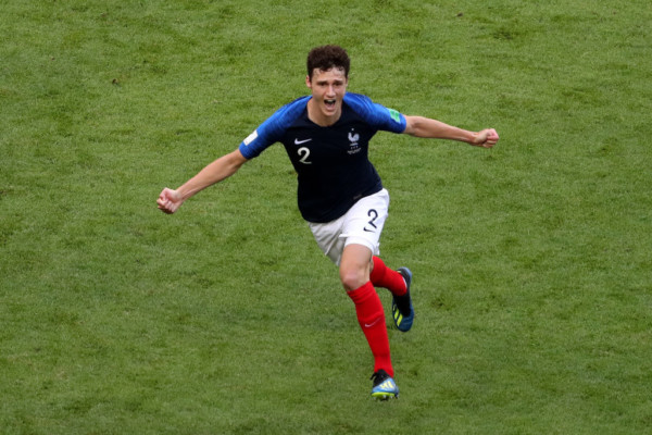 France's Benjamin Pavard goal voted 2018 World Cup's best