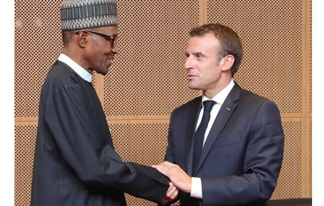 Buhari to hold talks with French President Macron in Abuja