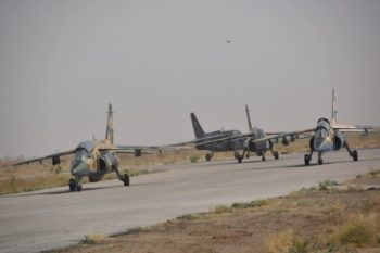 Nigerian Airforce graduates combat ready Pilots