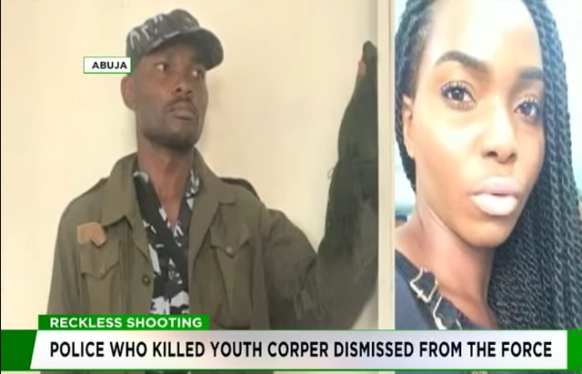 Police dismiss officer who killed youth Corper