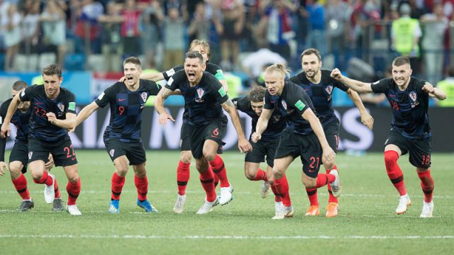 Croatia knock out Russia on penalties