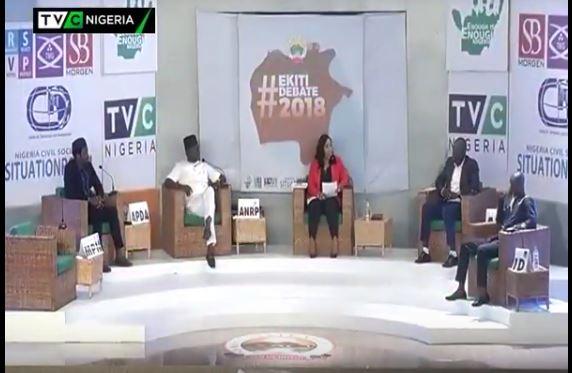 #EkitiVotes: Enought Is Enough, TVC News host debate