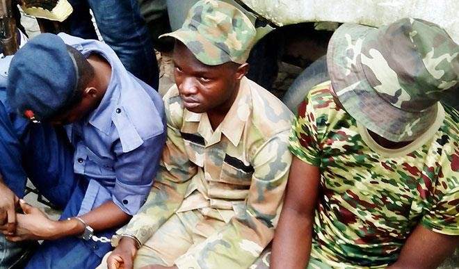 Fake Police officers paraded in Rivers