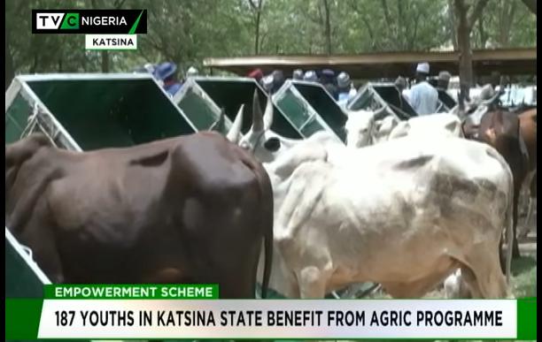 Katsina empowers 187 farmers in 17 LGAs