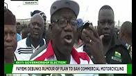 Ekiti 2018: Okada riders rally support for Fayemi