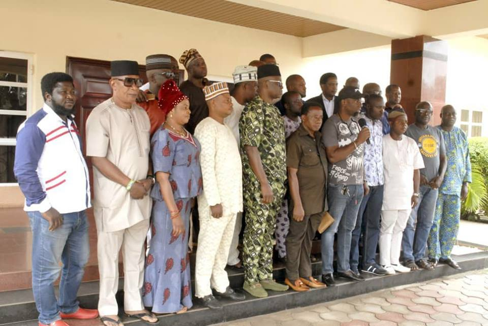 PDP Ekiti Assembly members meet Fayose