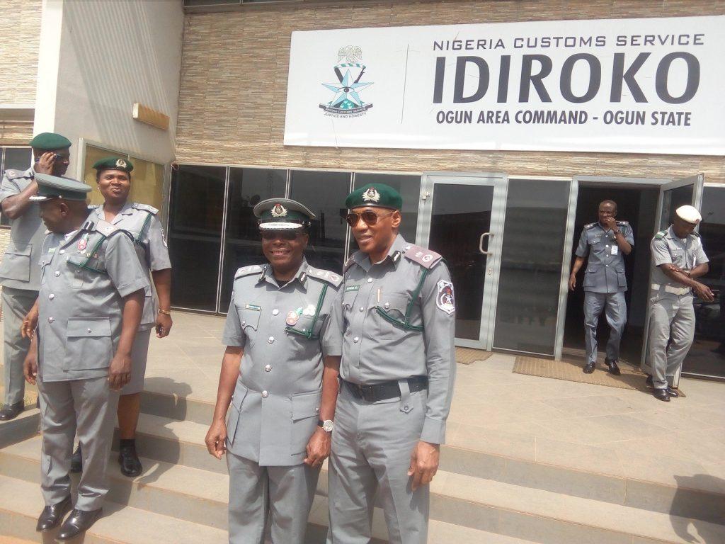 Ogun state customs generate more than 2.6 billion naira in six months