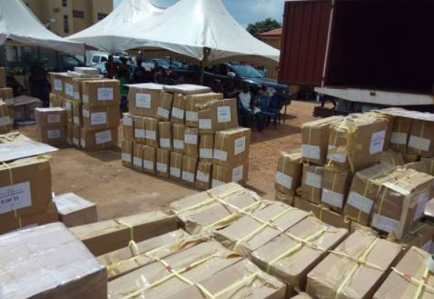 #EkitiVotes: INEC begins distribution of sensitive materials
