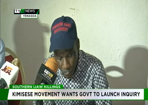 Kimisese movement calls for inquiry into Southern Ijaw killings