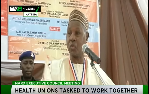 Masari urges health unions to work together