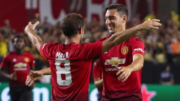 Juan Mata goal earns friendly draw for Manchester United