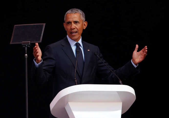Obama cautions against rise of strongmen