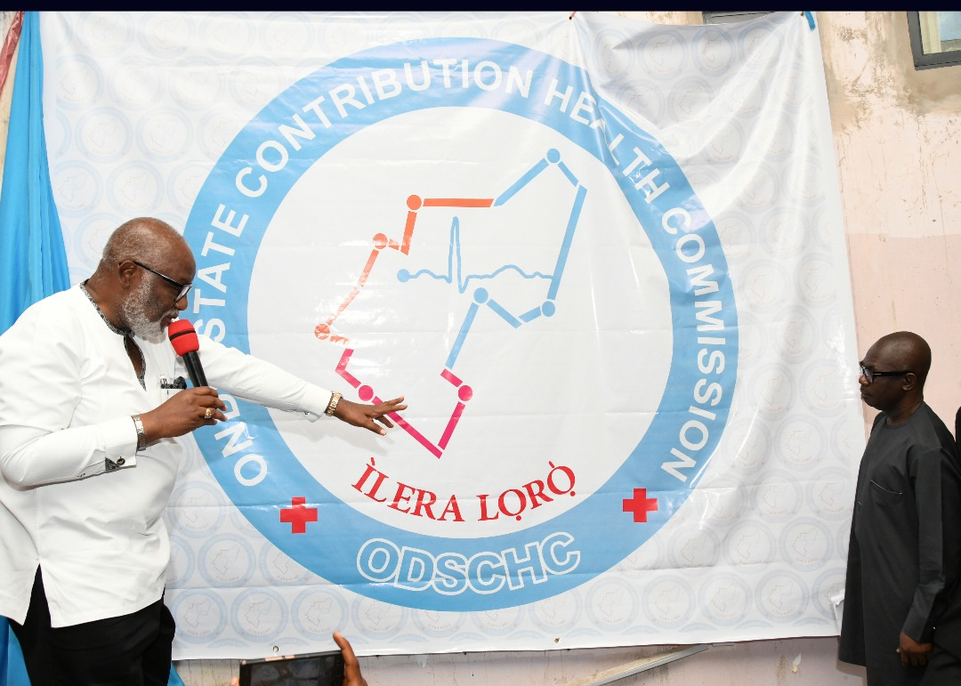 Akeredolu unveils health Commission logo