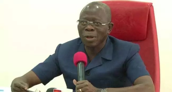 FG has no plan to scrap minimum wage, Oshiomhole assures Labour