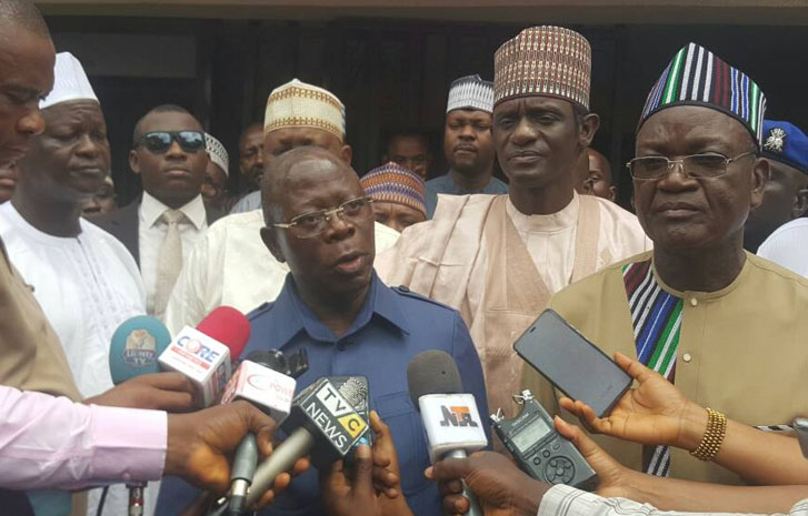 Ortom's exit from APC, a blessing in disguise – Oshiomhole