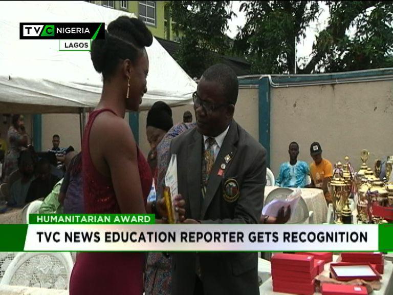 TVC News' Education reporter, Sharon Ijasan wins humanitarian reporting award